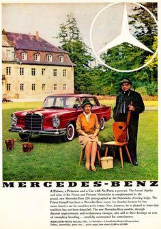 1959 mercedes benz 300sl ad 1960 mercedes benz 300 ad