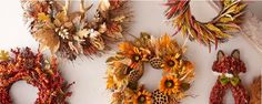 Fall Wreaths and Garland: Fall Home Accents | Pier 1 Imports