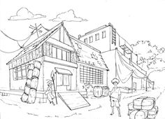 two point perspective | ... in 1 point perspective 2 point perspective and 3 point perspective