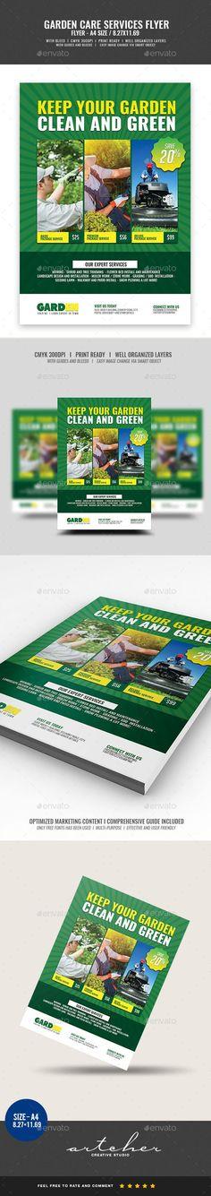 a5, ai, BrandPacks, floral, flowers, flyer, flyer design, flyer