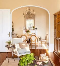 00417718 French Country House, House Colors, Simple Bedroom, Decor Inspiration, Interior Design, Interior, Home Decor, Dining Room Inspiration, Classic Living Room Decor