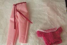 Handmade  Trouser Set Outfit for Barbie Dolls   (nannycheryloriginal) 1291 £3.50