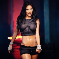 Nicole Scherzinger's body is amazing.