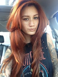 red hair. Follow us at Heavenly Inked.