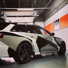 Audi rs6 wrap jon olsson style!