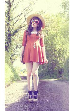 Carrot-orange-tk-maxx-dress-black-urban-outfitters-socks_400