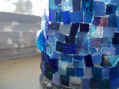 scrap glass luminary