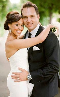 Tamara Mowry's wedding day