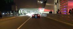 Citroen C4 Driving Monaco Policemen Chases Fire Spitting Aventador