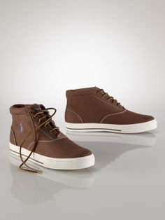 I have the suede version of this shoe, I wish they had a canvas style when I got mine.