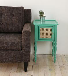 cute side table (color) revamp idea - Urban Outfitters - GiGi Nightstand - no longer online.