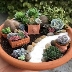 Gorgeous DIY Fairy Garden Design Ideas