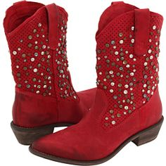 If I liked cowboy boots I'd definitely get these Mia Limited Edition Moonshine boots -- first cowboy boots I've ever liked! :D