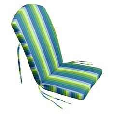 Collapse onto this Cushion Source 47 x 21 in. Striped Sunbrella Adirondack Chair Cushion and feel immediate comfort. It showcases thick CumuPlush padding. Backyard Furniture, Best Outdoor Furniture, Tiffany Ceiling Lights, Cushion Source, Adirondack Chair Cushions, Deep Seat Cushions, Small Outdoor Spaces, Cushion Fabric, Cool House Designs