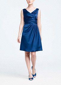 "Possible bridesmaids dress in ""regency"" with ""malibu"" sash. @Maddi Henderson @Allyson Hovermale"