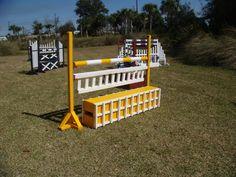 Aluminum & Wood Horse Jump Hunter Jumper Equipment, Show Jump Equipment and USEF Course Design available at GetJumps.com - Kids Jumps - Kid Jumps