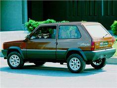 Fiat Panda 4x4 Offroader (ItalDesign), 1980