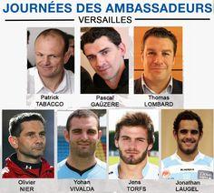 Patrick Tabacco, Pascal Gaüzère, Thomas Lombard, Olivier Nier, Yohann Vivalda, Jens Torfs, Jonathan Laugel.