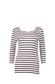 B Young Black White Stripey Top Rasmine MS | Eden Boutique Edinburgh - IN STORE NOW! Young Black, Spring Summer 2015, Edinburgh, Navy And White, Ms, Stripes, Boutique, Store, Shirts