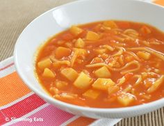 Minestrone Soup | Slimming Eats - Slimming World Recipes