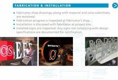 Signage Fabrication