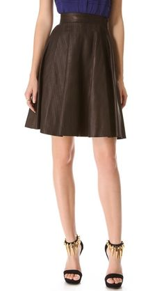 Adele Leather Skirt by Temperley London, from Shopbop, $1605