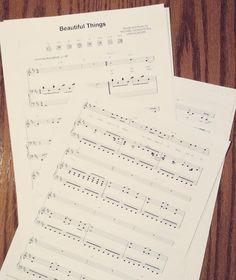 favorite song to play on the piano any day everyday. @gungormusic #beautifulthings #outofthedust #outofus #youmakemenew #youmakemenewyouaremakingmenew #music #piano #kimballpianos #sheetmusic #vscocam #vsco #whereibelong #worship #whereillbeiswhereyoullfindme #meetmehereattheedgeoftheearth by jacoballenoyer