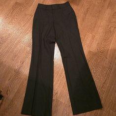 Banana Republic Charcoal Stretch Dress Slacks Like New.  Great Condition.  Banana Republic charcoal size 4 stretch slacks. Banana Republic Pants