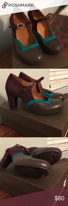 Chie Mihara Amen pumps All leather including soles.  Size 37.5- US 7-7.5 equivalent.  Worn only once.  Great condition. Original box and dust bag. chie mihara Shoes Heels
