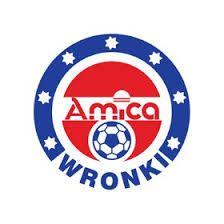 Amica Wronki logo - Eerste tegenstander SC Heerenveen in de Europa Cup. sc Heerenveen ontvangt in eigen stadion Amica Wronki dat met een 3-1 nederlaag (treffers Talan, Mitrita en Pahlplatz) terug naar Polen wordt gestuurd. Uit wordt het 0-1 dankzij een frommelgoal van Dennis de Nooijer.