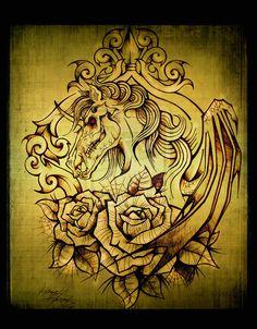 Demonic Horse by WerwolfSpirit429 on deviantART