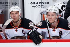 The twins Getzlaf and Perry