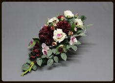 Dekoracje nagrobne XL Funeral, Floral Wreath, November, Wreaths, Flowers, Decor, Decorating, Flower Crowns, Decoration