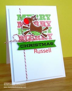 Stamping & Sharing: More Christmas Cards