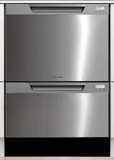 Dishwashers double drawer