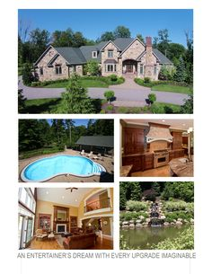 Master design and attention to detail deliver stunning luxury, endless entertaining options and comfortable living spaces in this Kirtland, Ohio home. This home's spacious kitchen has granite counters and built-in SubZero and Wolf appliances. MLS# 3715106