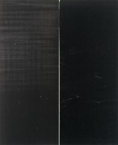 """Wade Guyton  """"Guyton's paintings are ostensibly monochromes. Made with an Epson large format printer, these works are printed on pre-primed linen intended for oil painting and not inkjet printing."""