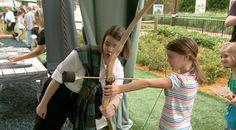 'Brave – The Highland Games' make sash w fabric