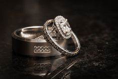 Tiffany wedding rings.