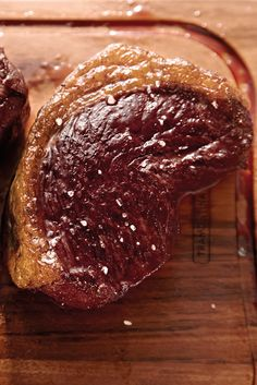 """Another example of some perfectly cooked steak. This particular cut is called the rump or """"Picanha"""". We love to marinate this with nothing but rock salt!   See more of our products and Churrasco recipes at http://www.tramontina.com.au/churrasco/"""
