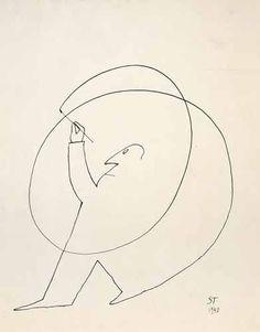 Saul Steinberg by NanetteMarie