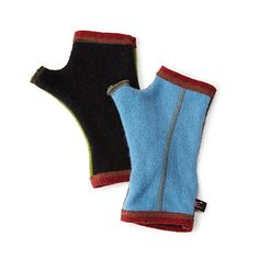 LUncommonGoods: upcycled cashmere mismatched handwarmers... for $48 #uncommongoods