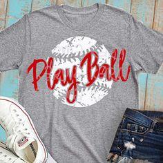 Play Ball svg, Baseb