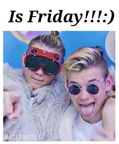 Friday!!!! Waiti for tomorrow satuday next<<