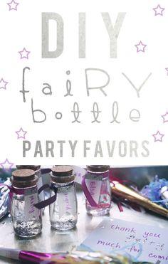 Make your own fairy bottle!