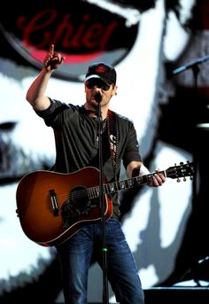 "Eric Church- Love him! Currently can't get enough of his song ""Springsteen""!"