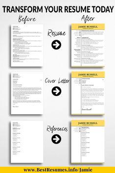 Download Modern Resume Design Templates And Get A Killer Resume  Transformation Today! Stand Out With