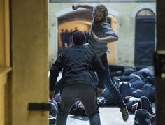 See Marvel's 'Iron Fist' in action in new photo     - CNET  Enlarge Image  Marvels Iron Fist fights with an open heart and a closed fist in this new image.                                             Netflix                                          Just as every Marvel fan is still blurry eyed from binge-watching the latest Marvel superhero installment Luke Cage over the weekend at least once Netflix releases a first look date and new teaser trailer today for the next superhero series Iron…