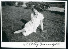 vintage photo....kitty mengel