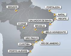 La Copa Mundial de la FIFA en Brasil 2014